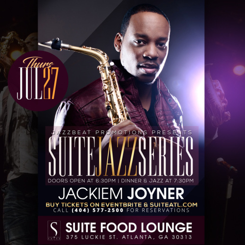 Jackiem Joyner Live at Suite