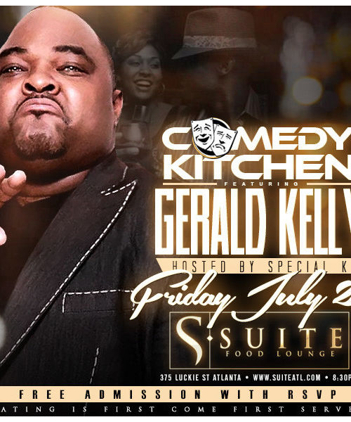 The Comedy Kitchen ft Gerald Kelly