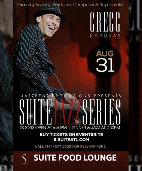 Gregg Karukas Live at Suite