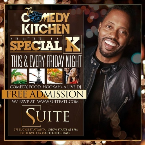 The Comedy Kitchen Hosted by Special K