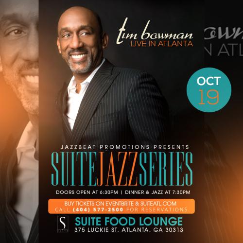 Tim Bowman Live at Suite
