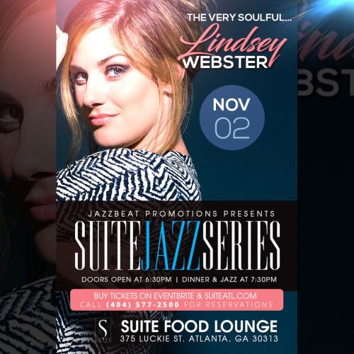 Lindsey Webster Live at Suite