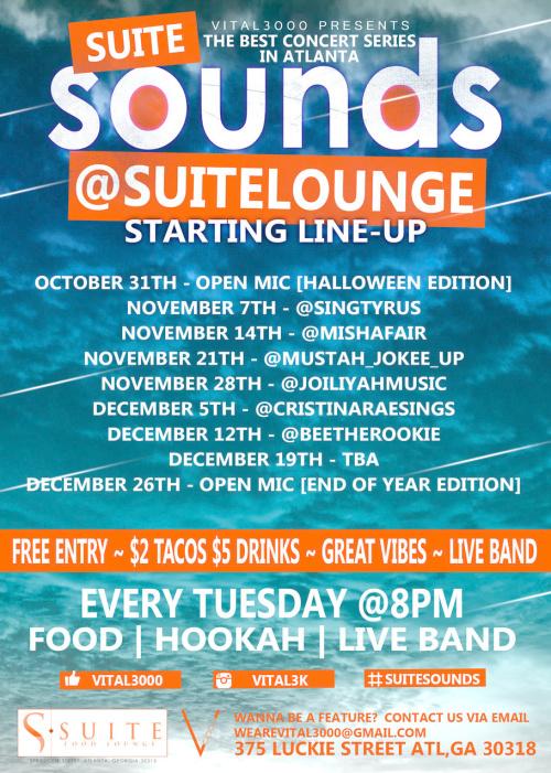 Suite Sounds (Live Music Showcase)