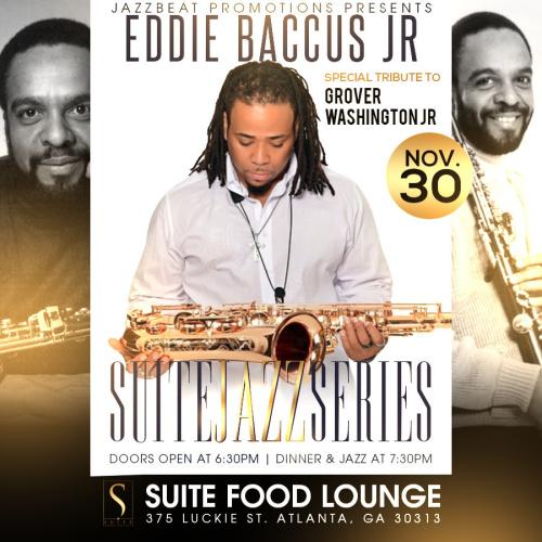 Eddie Baccus Jr Tribute to Grover Washington