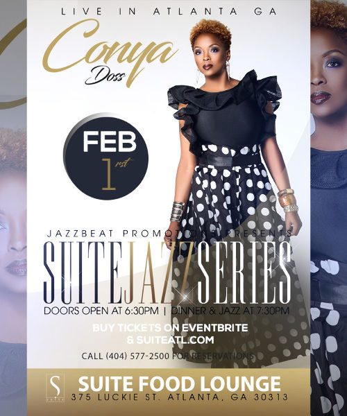 Conya Doss Live at Suite