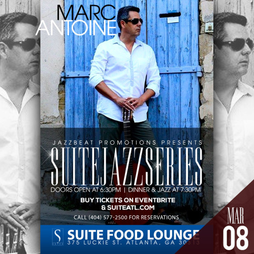 Marc Antoine Live at Suite