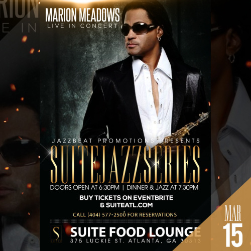 Marion Meadows Live at Suite