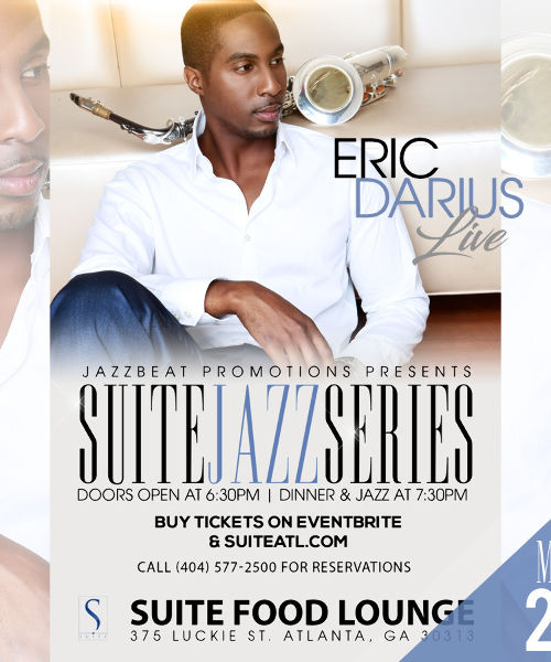 Eric Darius Live at Suite