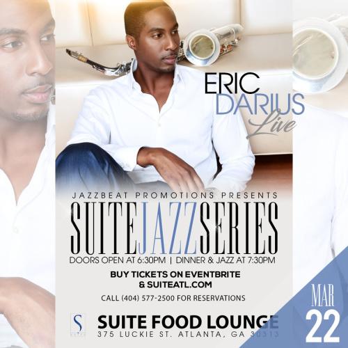 Eric Darius Live at Suite