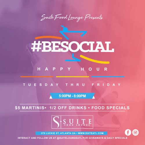 Be Social Happy Hour