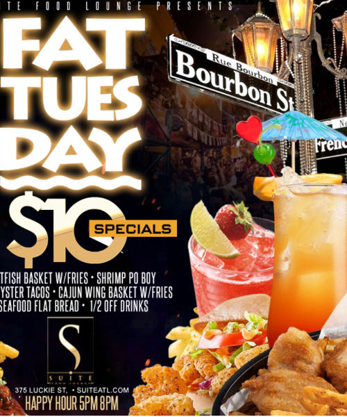 Fat Tuesdays Happy Hour