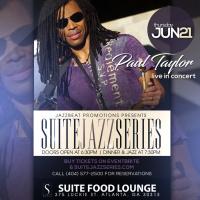 Paul Taylor Live at Suite
