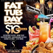 Fat Tuesday Happy Hour