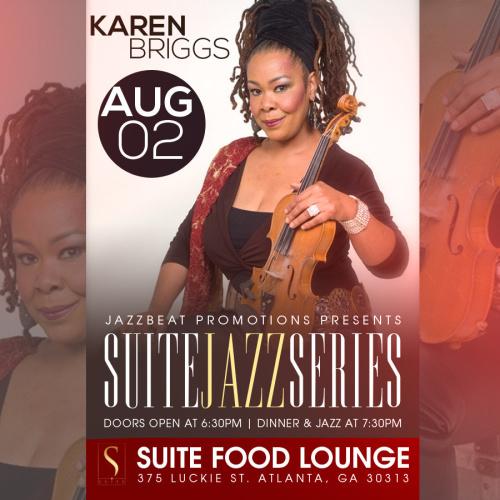 Karen Briggs Live at Suite