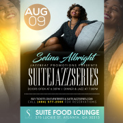 Selina Albright Live at Suite