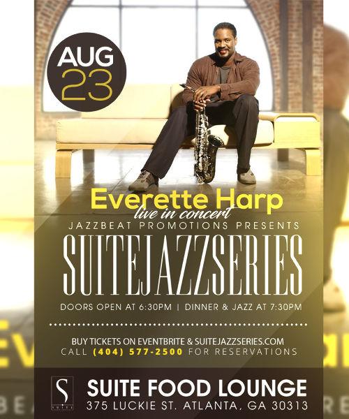 Everette Harp Live at Suite