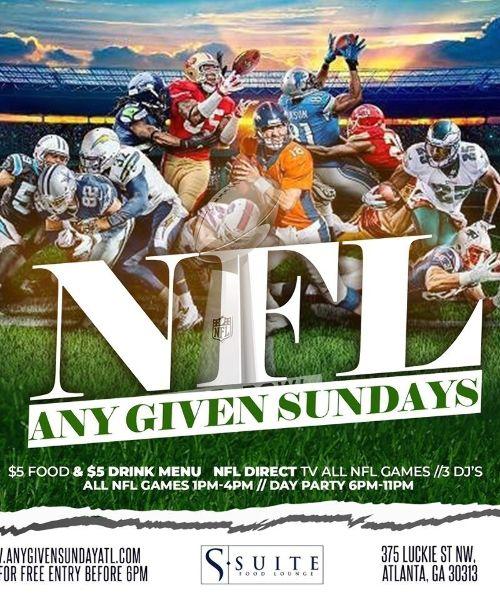 NFL Sunday Football/Brunch