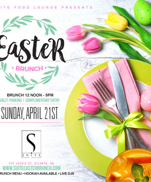 EASTER BRUNCH AND DAY PARTY