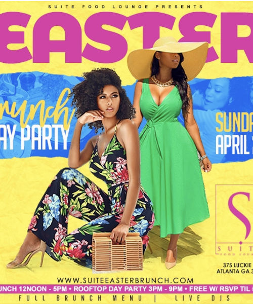 EASTER SUNDAY DAY PARTY