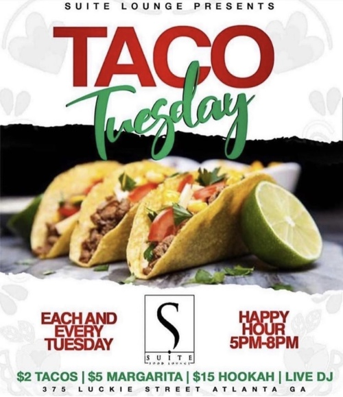 $2 TACO TUESDAYS