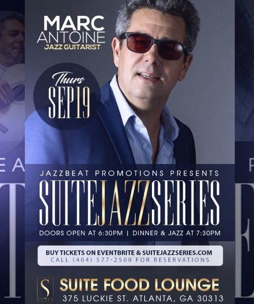 Marc Antoine Live At Suite