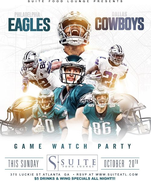 Eagles vs Cowboys Viewing Party