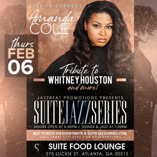 Amanda Cole Tribute to Whitney and more