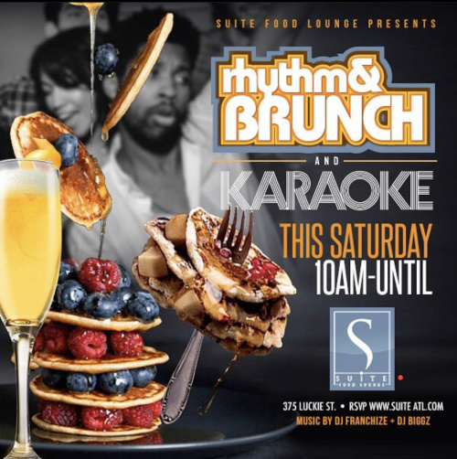 RHYTHM & BRUNCH W/KARAOKE
