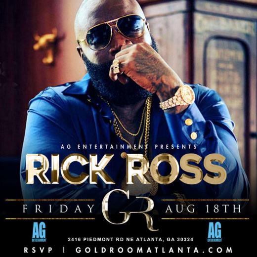 Gold Room Fridays : Rick Ross