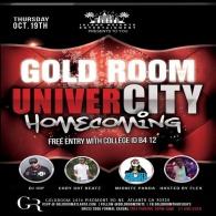 Gold Room: UNIVERCITY
