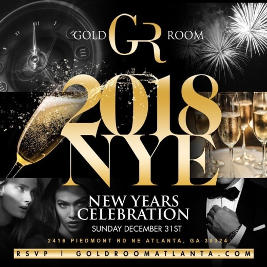 GOLD ROOM NEW YEAR PARTY.