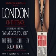 Hip-Hop Fridays:Presents: London On The Track