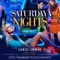 Gold Room Saturdays