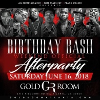 GOLD ROOM BDAY BASH AFTER PARTY
