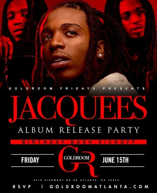 GOLD ROOM FRIDAYS - JACQUEEZ