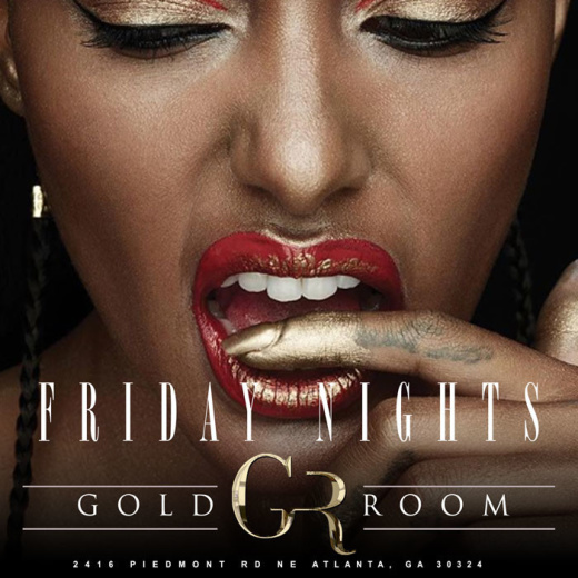 GOLDROOM FRIDAYS HIPHOP