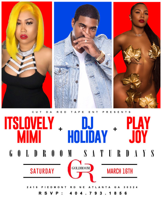 GOLDROOM SATURDAYS : LIVE 94.5