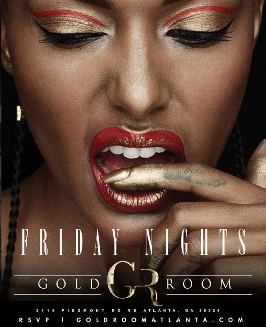 Friday Night Gold Room