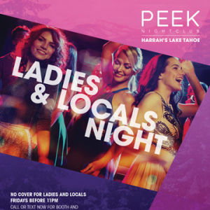 Fridays at Peek, Friday, August 2nd, 2019