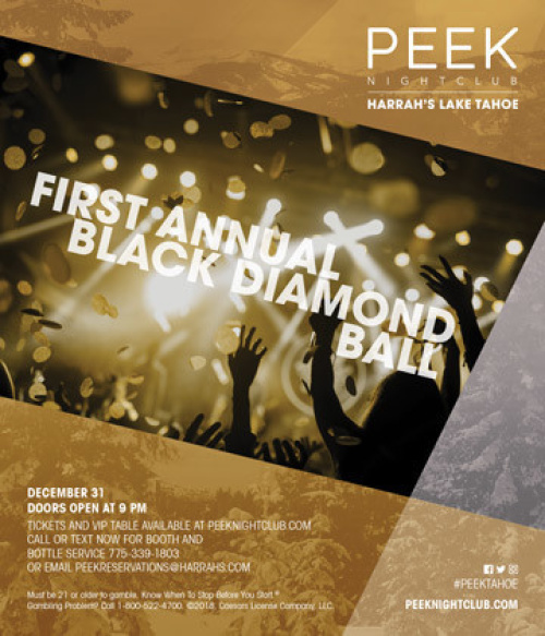 First Annual Black Diamond Ball | New Year's Eve 2019 - Peek Nightclub