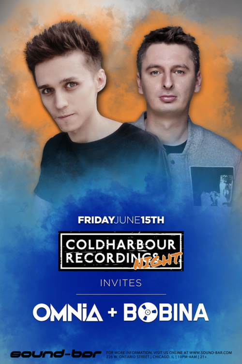 Coldharbour Recordings invites Omnia + Bobina - Sound-Bar