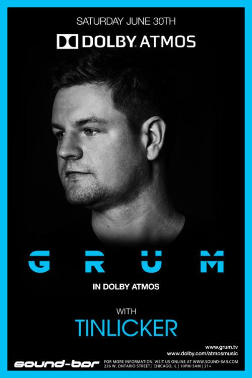 GRUM (in Dolby ATMOS) w/ special guest TINLICKER - Sound-Bar