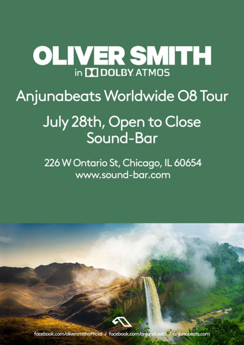 Oliver Smith (Open to Close | in Dolby ATMOS) at Sound-Bar Chicago - Sound-Bar