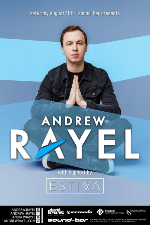 Andrew Rayel w/ special guest Estiva - Sound-Bar