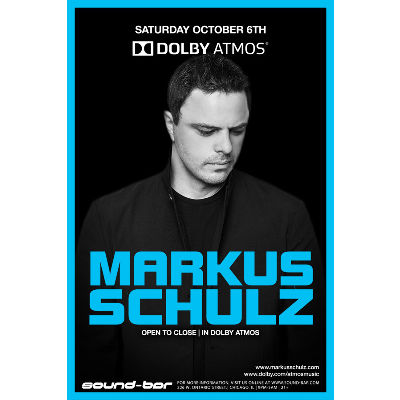 Markus Schulz (Open to Close | In Dolby ATMOS), Saturday, October 6th, 2018