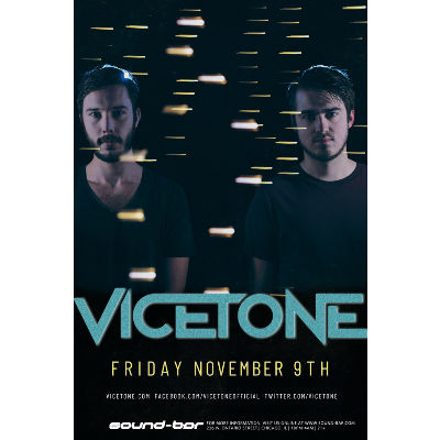 Vicetone, Friday, November 9th, 2018