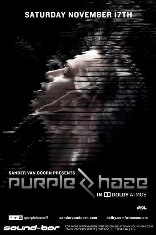 Sander Van Doorn presents Purple Haze in Dolby ATMOS - Sound-Bar