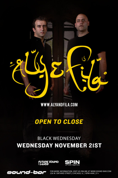Black Wednesday w/ Aly & Fila (Open to Close) - Sound-Bar