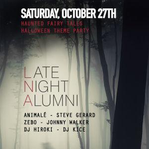 Sound-Bar Halloween w/ Late Night Alumni, Saturday, October 27th, 2018