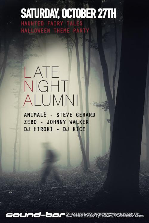 Sound-Bar Halloween w/ Late Night Alumni - Sound-Bar